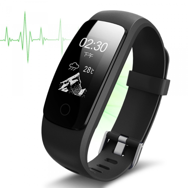 Bratara fitness MoreFIT™ ID107 HR Pro, GPS pentru alergat, alerta vreme , rezistenta la apa , monitorizare puls, notificari aplicatii, notificari apeluri si sms, respingere apel, control muzica telefo 6