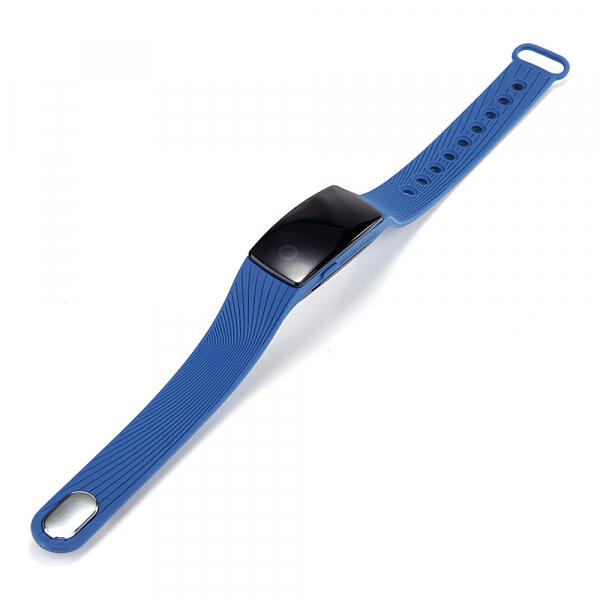 Bratara fitness MoreFIT™ ID107 Pro , BT 4.0 , monitorizare puls si somn , actionare camera smart , cronometru, notificari apeluri si sms, Android, iOS, vibratii, albastru 1