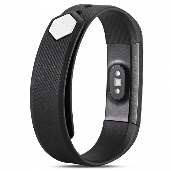 Bratara fitness MoreFIT™ ID115HR Plus, BT 4.0, rezistenta la apa IP67, ritm cardiac, pedometru, remote camera, notificari, Android, iOS, vibratii, negru 2