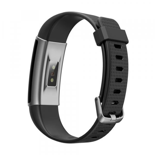 Bratara fitness MoreFIT™ ID130C Pro, LCD color, puls dinamic 24h, 14 moduri sport, rezistenta la apa ip67, stand-by 10-15 zile, notificari,negru 2