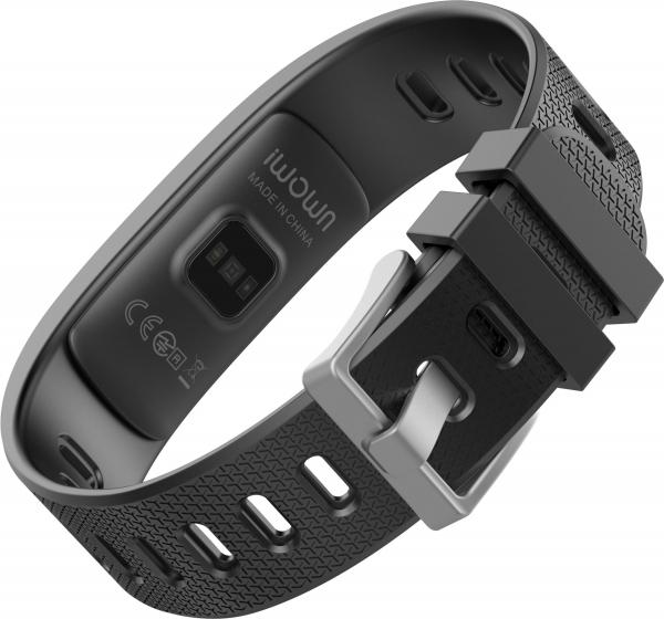 Bratara fitness MoreFIT™ iWown I6 HR C, Display color fulltouch, puls dinamic 24h, 7 moduri sport, , senzor lumina, rezistenta la apa ip67, notificari, negruu 3