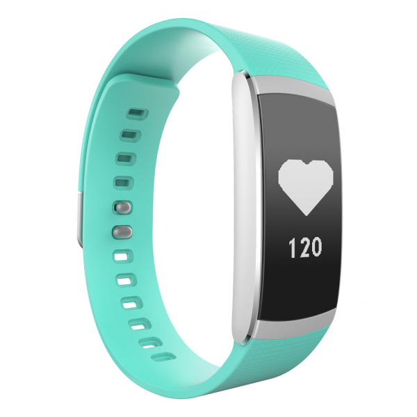 Bratara fitness MoreFIT™ iWown I6 Pro, Display full touch, 7 moduri sport, puls dinamic 24h, rezistenta la apa ip67, notificari, verde [3]