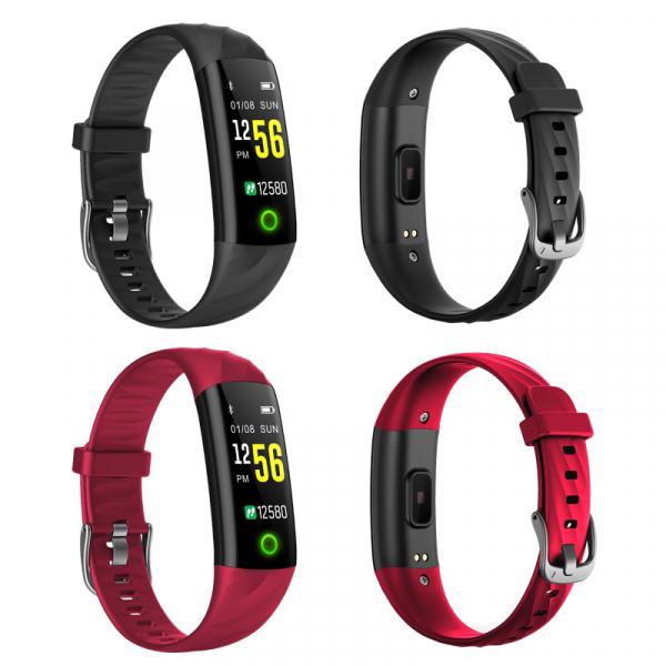 Bratara fitness MoreFIT™ S5, BT 4.0, Puls, Oxigen, Mod sport 5 sporturi, Ecran Color, Rezistenta la Apa IP68, Notificari apeluri, Android, iOS, Smart Breath Lamp, Negru 2