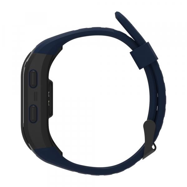 Bratara fitness MoreFIT™ S908s Premium Color, GPS, multi sport, rezistent la apa IP68, puls dinamic, ultra long stand by, Android, iOS, notificari, albastru 2