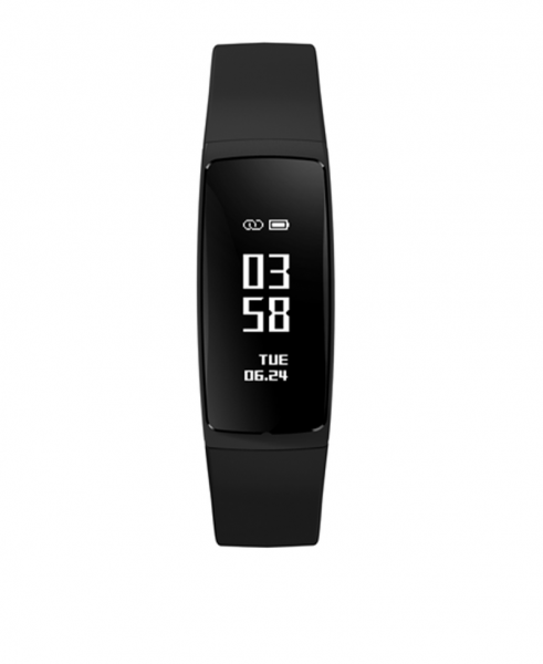 Bratara fitness MoreFIT™ V07+ Pro , BT 4.0, rezistenta la apa ip67, monitorizare puls dinamic, Android, iOS, intrare apeluri, sms, vibratii, negru 4
