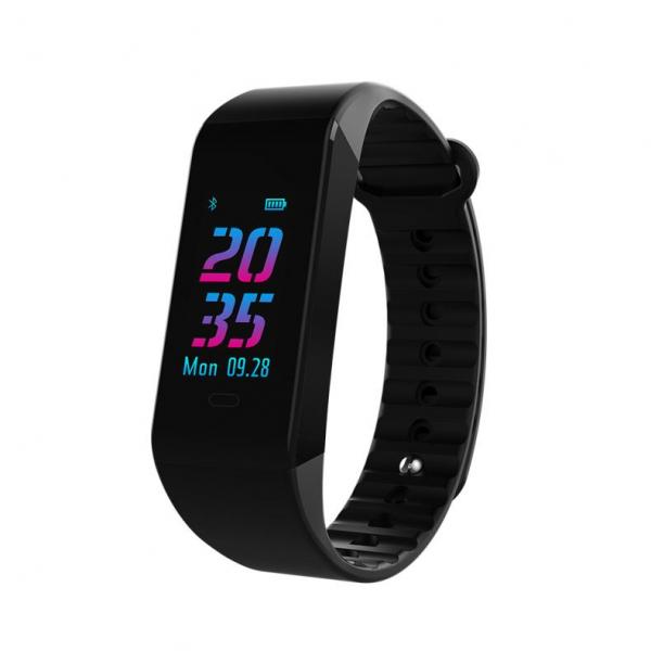 Bratara fitness MoreFIT™ W6S Smart, schimbare culori/format display, stand by 25 zile, rezistenta la apa ip67, monitorizare puls dinamic, Android, iOS, intrare apeluri, sms, vibratii, negru 0