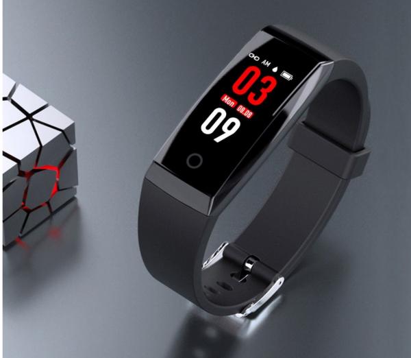 Bratara fitness MoreFIT™ W8,  BT 4.0, Puls, Afisare Apelant, Cronometru, Nivel oboseala, Android, iOS, Notificari, Stand-By 20 zile, Negru 4