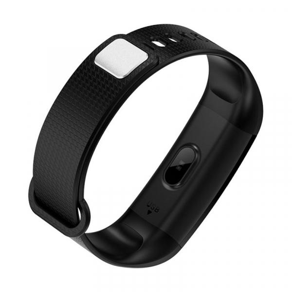 Bratara fitness MoreFIT™ Y5,  BT 4.0, Puls, Oxigen, Mod sport, Ecran Color, Rezistenta la Apa IP67, Notificari apeluri, Android, iOS, Remote camera, Negru 1