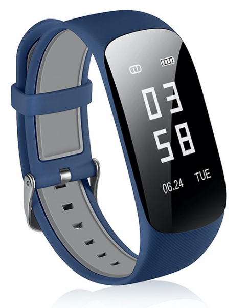 Bratara fitness MoreFIT™ Z17, GPS, marcare traseu pe harta,  IP67, ritm cardiac, calorii, nivel oboseala, notificare apleuri/sms/respingere apel, monitorizare somn, remote camera, cautare telefon, sta [1]