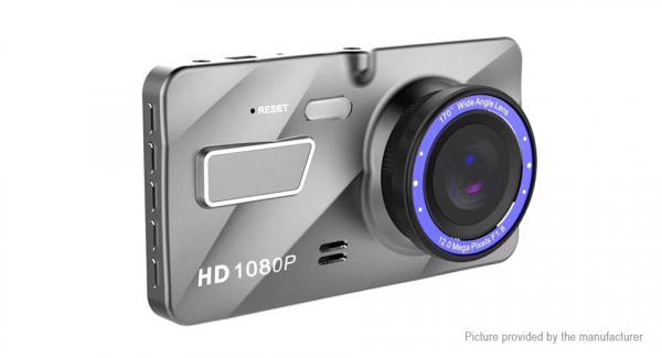 Camera auto DVR FreeWay™ A10, FullHD 1080p@30Fps, camera dubla, G-senzor, lentile Sony , super night vision, suport prindere, 4 inch LCD, unghi de filmare 170 grade, inregistrare ciclica ( bucla , loo 4