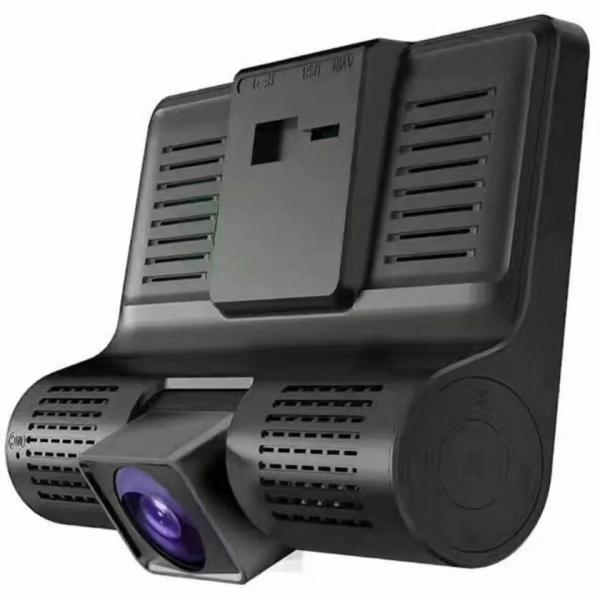 Camera auto DVR FreeWay™ C3, 3 Camere, 1080p 30Fps FullHD, G-senzor, lentile Sony , super night vision, suport prindere , 4 inch LCD, unghi de filmare 170 grade, inregistrare ciclica ( bucla , looping 3