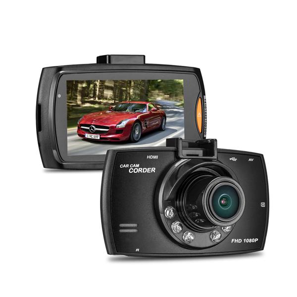 Camera auto DVR FreeWay™ G30, FullHD 1080p@30Fps, camera dubla, G-senzor, lentile Sony , super night vision, suport prindere, 2.7 inch LCD, unghi de filmare 120 grade, inregistrare ciclica ( bucla , l 2