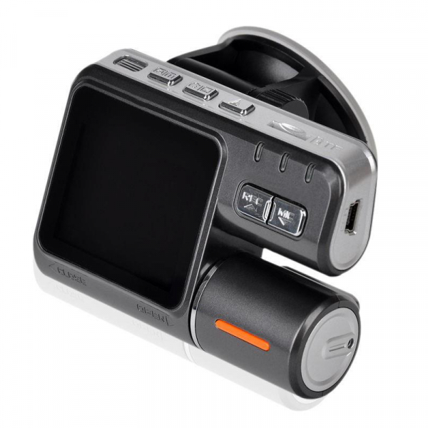Camera auto DVR FreeWay™ I1000, camera dubla, FullHD1080p@25Fps,G-senzor, lentile Samsung, Super Night Vision, Suport prindere , 2 inch TFT, unghi de filmare 140 grade,Detectare miscare, inregistra [1]