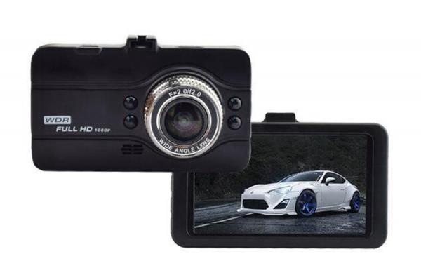 """Camera Auto DVR FreeWay™ T628, FullHD 1080p@30Fps, G-senzor, Lentile Sony, Super Night Vision, Suport prindere, Display 3"""" LCD, Unghi De Filmare 170 Grade, Detectare miscare, Inregistrare Ciclica ( bu 4"""