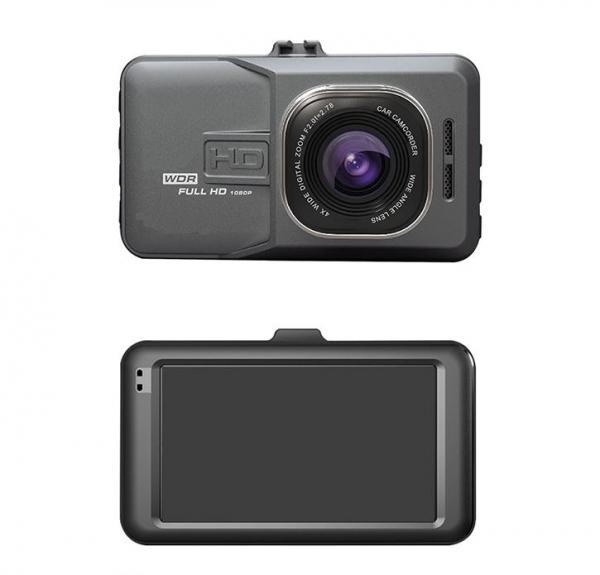 Camera auto DVR FreeWay™ T636, FullHD 1080p@25Fps, camera dubla, G-senzor, lentile Sony , super night vision, suport prindere, 3 inch LCD, unghi de filmare 170 grade, inregistrare ciclica ( bucla , lo [4]