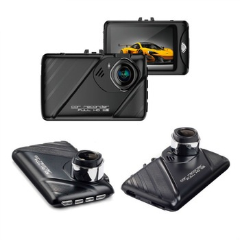 Camera auto DVR FreeWay™ T658, camera dubla, FullHD 1080p@30Fps, G-senzor, lentile Samsung, Super Night Vision, Suport prindere , 2 inch TFT, unghi de filmare 170 grade, Detectare miscare, inregistrar 4
