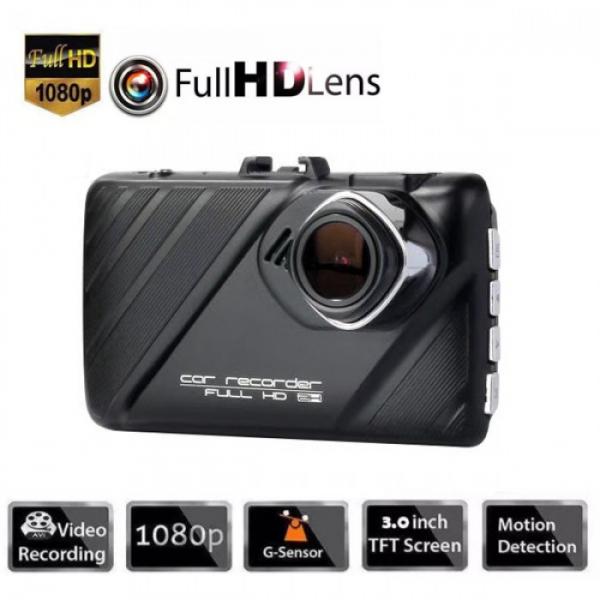 Camera auto DVR FreeWay™ T658, camera dubla, FullHD 1080p@30Fps, G-senzor, lentile Samsung, Super Night Vision, Suport prindere , 2 inch TFT, unghi de filmare 170 grade, Detectare miscare, inregistrar 2