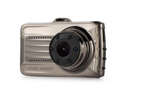 """Camera Auto DVR FreeWay™ T666, FullHD 1080p 30Fps, G-senzor, Lentile Sony, Super Night Vision, Suport prindere, Display 3"""" LCD, Unghi De Filmare 170 Grade, Detectare miscare, Inregistrare Ciclica ( bu [1]"""