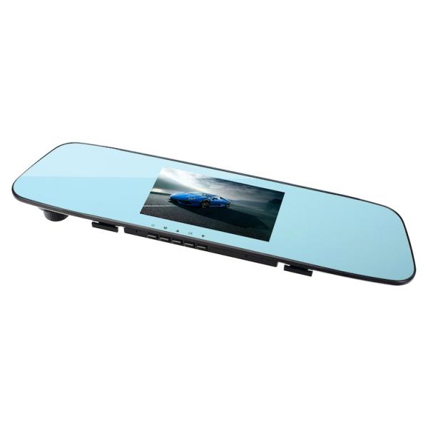 Camera Auto Oglinda TouchScreen DVR L505C, camera dubla, 1080p FullHD, G-senzor, suport prindere , 4.3 inch HD LCD, unghi de filmare 140 grade, inregistrare ciclica ( bucla ), negru 3