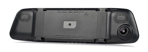 Camera Auto Oglinda TouchScreen DVR L505C, camera dubla, 1080p FullHD, G-senzor, suport prindere , 4.3 inch HD LCD, unghi de filmare 140 grade, inregistrare ciclica ( bucla ), negru 4