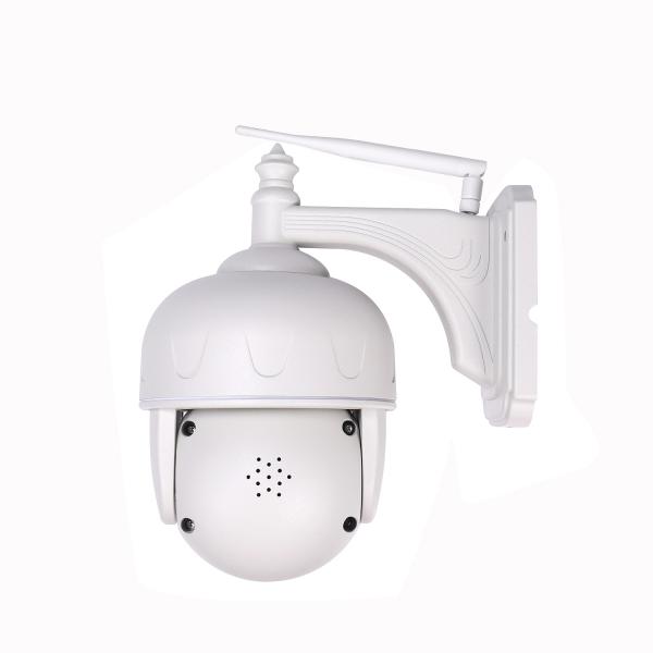 Camera de supraveghere IP WIFI Sricam™ SH028 Plus SriHome , Exterior , UltraHD 3MP, Conectare Telefon / PC , night vision , rezistenta la apa, rezolutie 2048x1536, senzor miscare , alb [3]