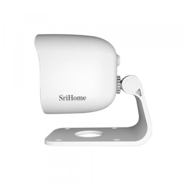 Camera de supraveghere IP WIFI Sricam™ SH029 Plus SriHome Exterior , UltraHD 3MP 2048x1536, Conectare Telefon / PC , night vision , rezistenta la apa, senzor miscare, alb [3]