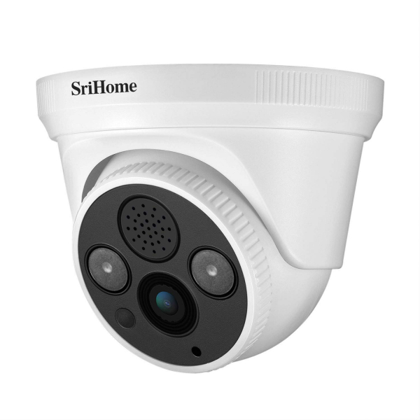 Camera de supraveghere IP WIFI Sricam™ SH030 Plus SriHome Interior, UltraHD 3MP 2048x1536, Conectare Telefon / PC , night vision , comunicare bidirectionala, senzor miscare, alb 0