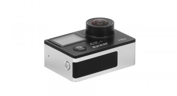 "Camera Video Sport Eken H6S+ 4k+ 14MP UHD @30fps, cu EIS Wifi, 2""LCD dual dispaly , telecomanda, accesorii, carcasa waterproof 100 feet , negru 4"