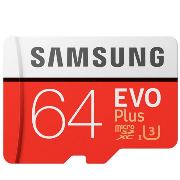 Card de memorie Samsung EvoPlus Micro SD Ultra, 64GB, 80Mb/s, Class 10, Full HD + Adaptor 0