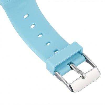 Ceas smartwatch cu GPS copii MoreFIT™ Q50, functie telefon, monitorizare GPS in timp real , Wi-FI, buton SOS si monitorizare spion, albastru +SIM prepay cadou 4