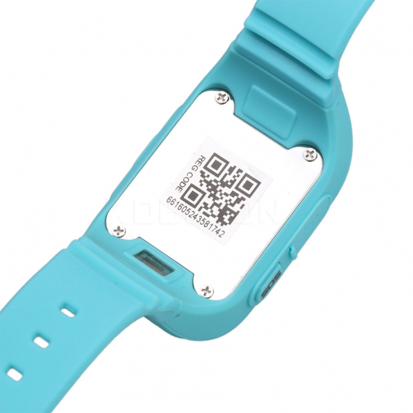 Ceas smartwatch cu GPS copii MoreFIT™ Q50, functie telefon, monitorizare GPS in timp real , Wi-FI, buton SOS si monitorizare spion, albastru +SIM prepay cadou 3