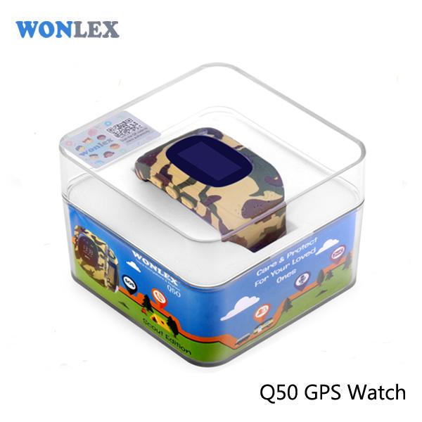 Ceas smartwatch cu GPS copii MoreFIT™ Q50 , functie telefon, monitorizare GPS in timp real , Wi-FI, buton SOS si monitorizare spion, galben camo +SIM prepay cadou [5]