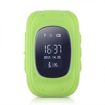 Ceas smartwatch cu GPS copii MoreFIT™ Q50, functie telefon, monitorizare GPS in timp real , Wi-FI, buton SOS si monitorizare spion, verde +SIM prepay cadou [3]