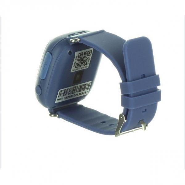 "Ceas smartwatch GPS copii MoreFIT™ GW100 Plus , cu GPS si functie telefon, Wi-Fi, ecran 1.22"" touchscreen, Bluetooth, tripla pozitionare, Buton SOS, vibratii, Bleumarin + SIM prepay cadou [4]"