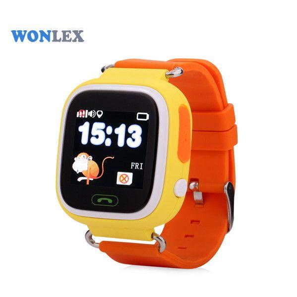 "Ceas smartwatch GPS copii MoreFIT™ GW100 Plus , cu GPS si functie telefon, Wi-Fi, ecran 1.22"" touchscreen, Bluetooth, tripla pozitionare, Buton SOS, vibratii, Galben + SIM prepay cadou 3"