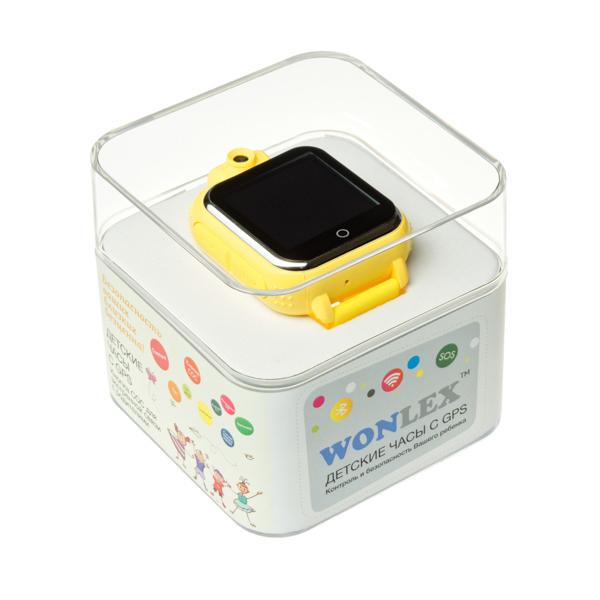 "Ceas smartwatch GPS copii MoreFIT™ GW1000 3G Pro , GPS, camera 2MP, Wi-FI si functie telefon, ecran touchscreen 1.54"", buton SOS, Galben +SIM prepay cadou [3]"