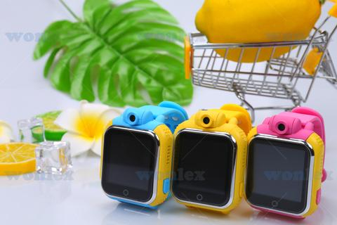 "Ceas smartwatch GPS copii MoreFIT™ GW1000 3G Pro , GPS, camera 2MP, Wi-FI si functie telefon, ecran touchscreen 1.54"", buton SOS, Roz + SIM prepay cadou 4"