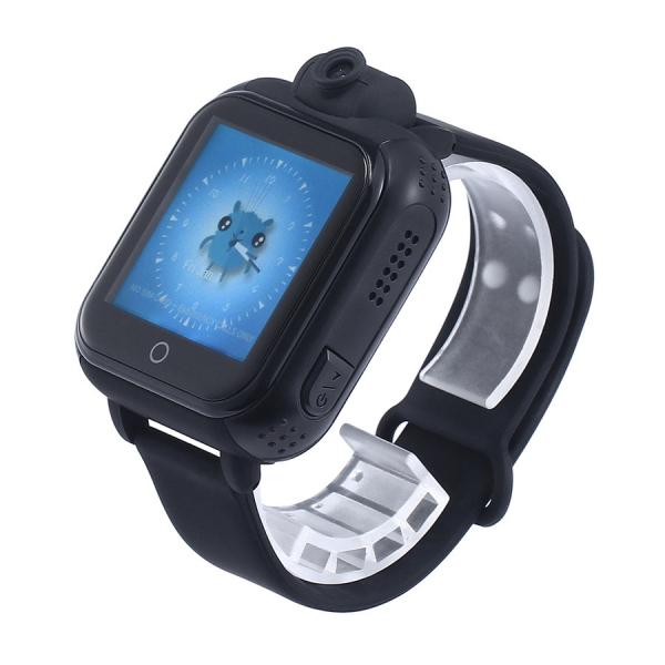 "Ceas smartwatch GPS copii MoreFIT™ GW1000x 3G Pro , GPS, camera 2MP, Wi-FI si functie telefon, ecran touchscreen 1.54"", buton SOS, Negru 2"