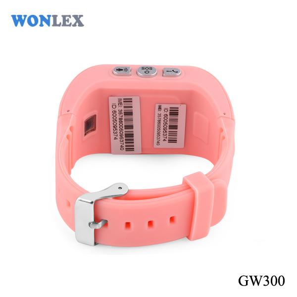 Ceas smartwatch GPS copii MoreFIT™ GW300, tripla pozitionare GPS+LBS+WiFi, telefon, buton SOS, monitorizare spion, design rezistent, Roz + SIM prepay cadou 2