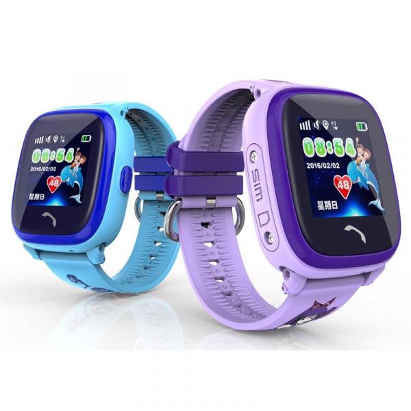 "Ceas smartwatch GPS copii MoreFIT™ GW400s Pro , cu GPS si functie telefon, Wi-Fi, rezistent la apa, ecran touchscreen 1.22"", monitorizare spion, buton SOS, roz +SIM prepay cadou [4]"