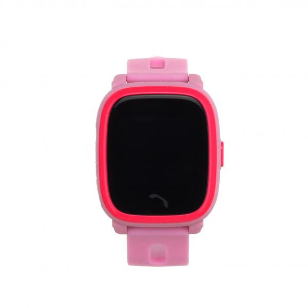 "Ceas smartwatch GPS copii MoreFIT™ GW400s Pro , cu GPS si functie telefon, Wi-Fi, rezistent la apa, ecran touchscreen 1.22"", monitorizare spion, buton SOS, roz +SIM prepay cadou [3]"