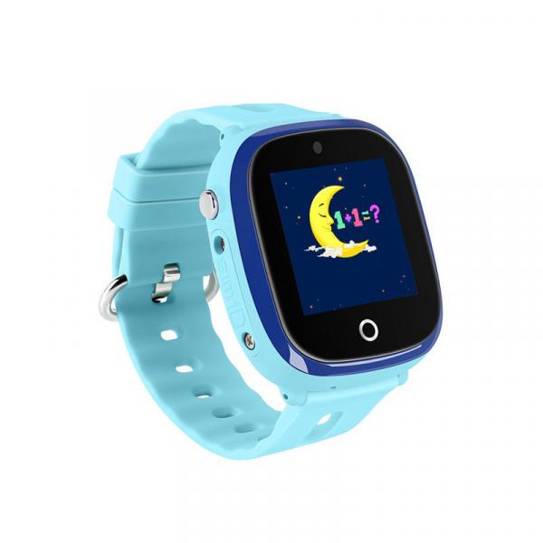 Ceas smartwatch GPS copii MoreFIT™ GW400x Pro , cu GPS si functie telefon, rezistent la apa, camera foto, buton SOS, Albastru + SIM prepay cadou 3
