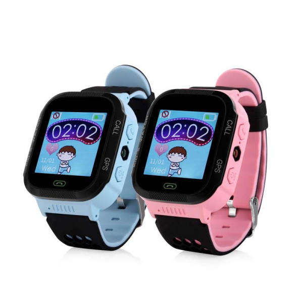 Ceas smartwatch GPS copii MoreFIT™ GW500x Pro , cu GPS si functie telefon, camera foto + lanterna, monitorizare spion, buton SOS, roz + SIM prepay cadou 5