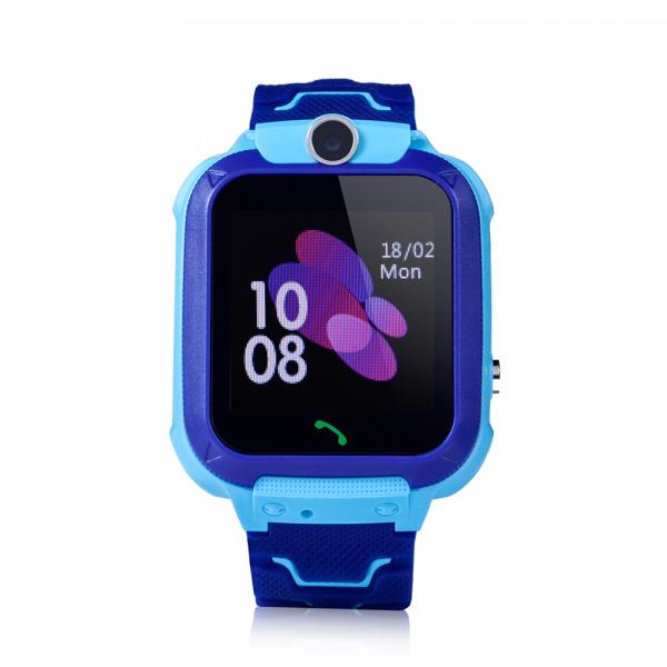 Ceas smartwatch GPS copii MoreFIT™ GW600s, cu GPS si functie telefon, Wi-Fi, localizare camera foto, monitorizare spion, rezistent la soc, praf si apa, touchscreen, buton SOS, perimetru siguranta , is 1