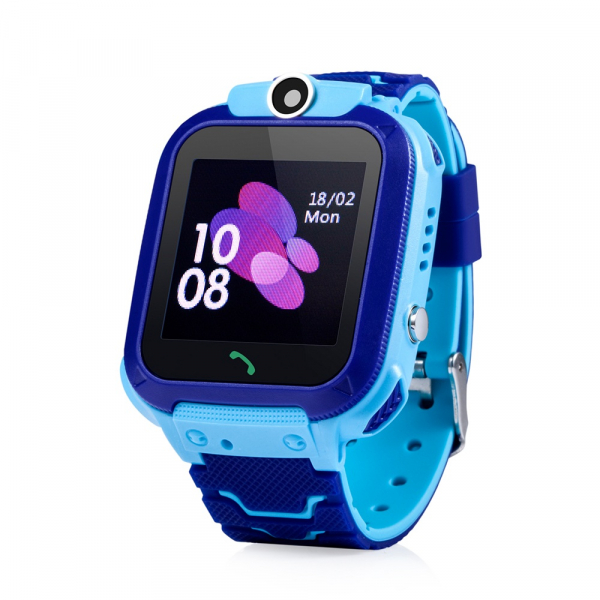 Ceas smartwatch GPS copii MoreFIT™ GW600s, cu GPS si functie telefon, Wi-Fi, localizare camera foto, monitorizare spion, rezistent la soc, praf si apa, touchscreen, buton SOS, perimetru siguranta , is 3
