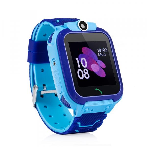 Ceas smartwatch GPS copii MoreFIT™ GW600s, cu GPS si functie telefon, Wi-Fi, localizare camera foto, monitorizare spion, rezistent la soc, praf si apa, touchscreen, buton SOS, perimetru siguranta , is 2