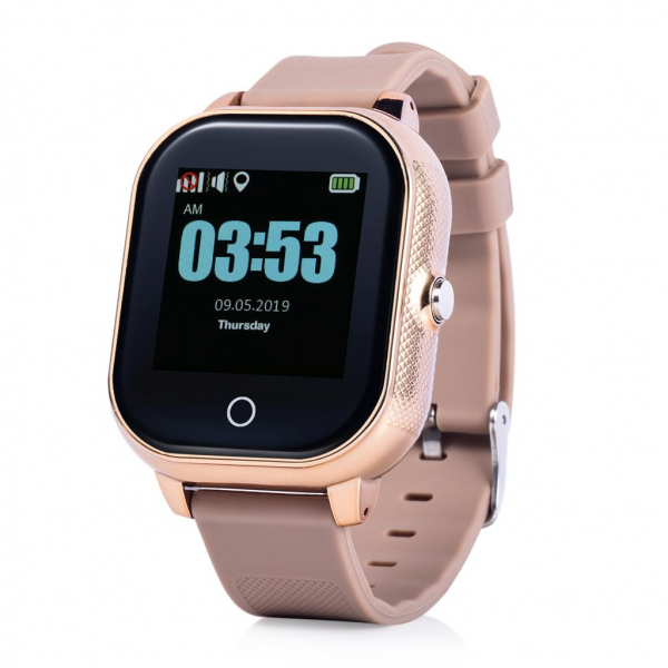 Ceas smartwatch GPS copii MoreFIT™ GW700s, cu GPS si functie telefon, Wi-Fi, monitorizare spion, rezistent la soc, praf si apa, touchscreen, buton SOS, perimetru siguranta , istoric locatie GPS, mod s 0