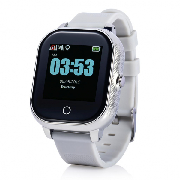 Ceas smartwatch GPS copii MoreFIT™ GW700s, cu GPS si functie telefon, Wi-Fi, monitorizare spion, rezistent la soc, praf si apa, touchscreen, buton SOS, perimetru siguranta , istoric locatie GPS, mod s [1]