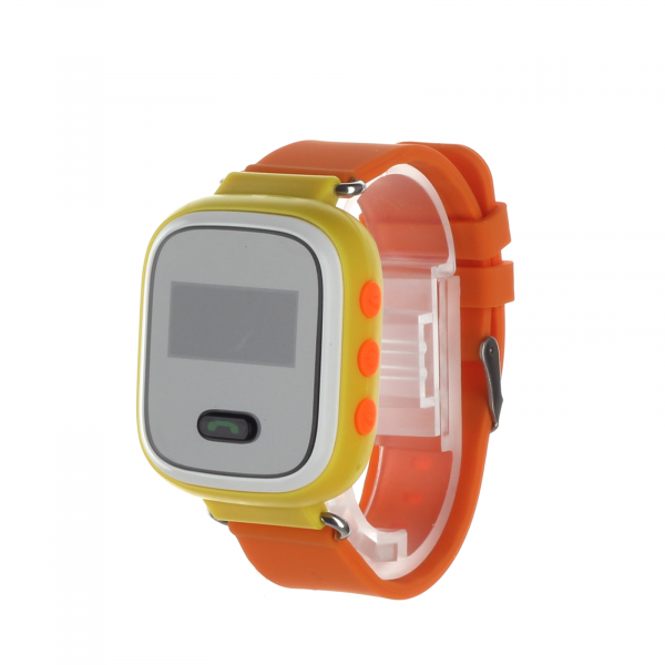 Ceas smartwatch GPS copii MoreFIT™ GW900s, cu GPS si functie telefon, monitorizare spion, pozitie GPS si LBS, buton SOS, Galben + SIM prepay cadou 2