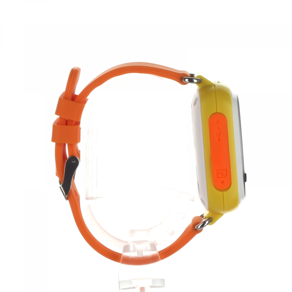 Ceas smartwatch GPS copii MoreFIT™ GW900s, cu GPS si functie telefon, monitorizare spion, pozitie GPS si LBS, buton SOS, Galben + SIM prepay cadou 3